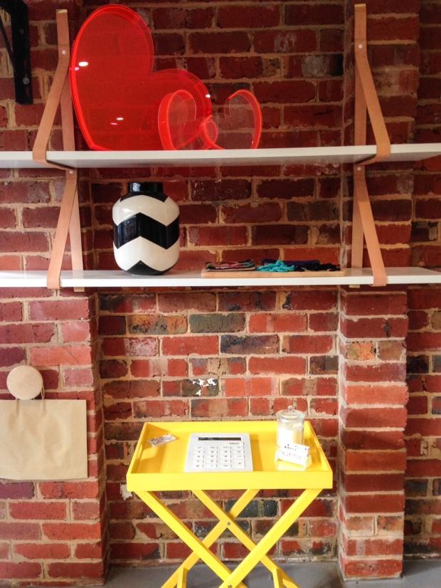 exterior shelf